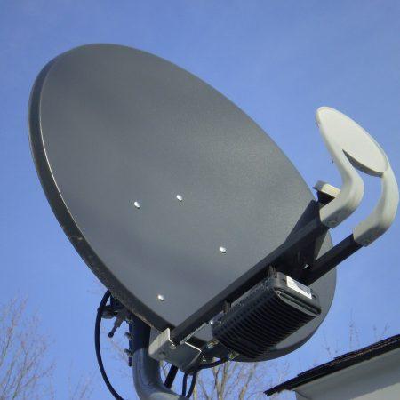 Ustawienie anteny satelitarnej