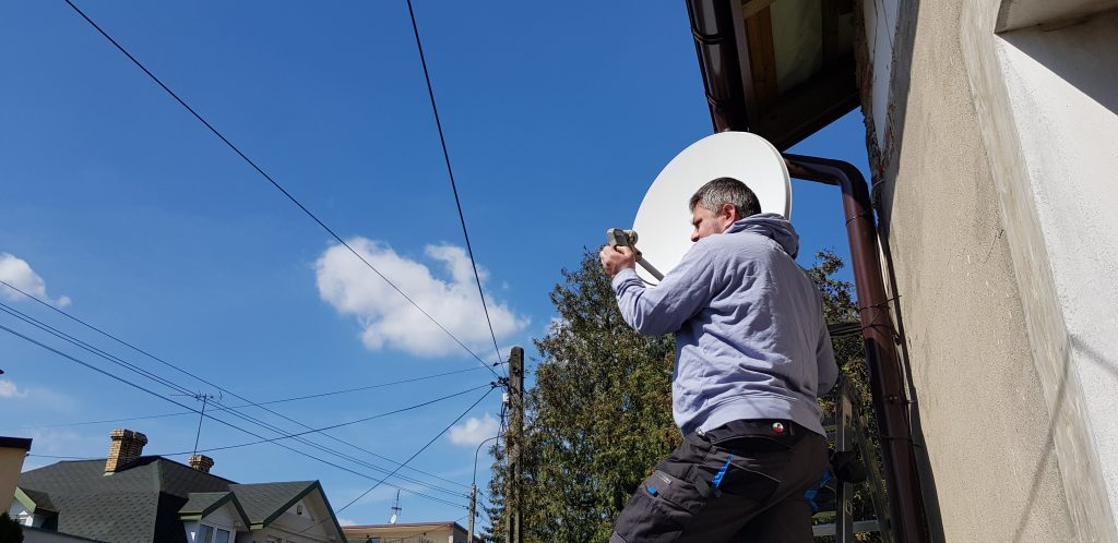 montaż anten Warszawa Radość