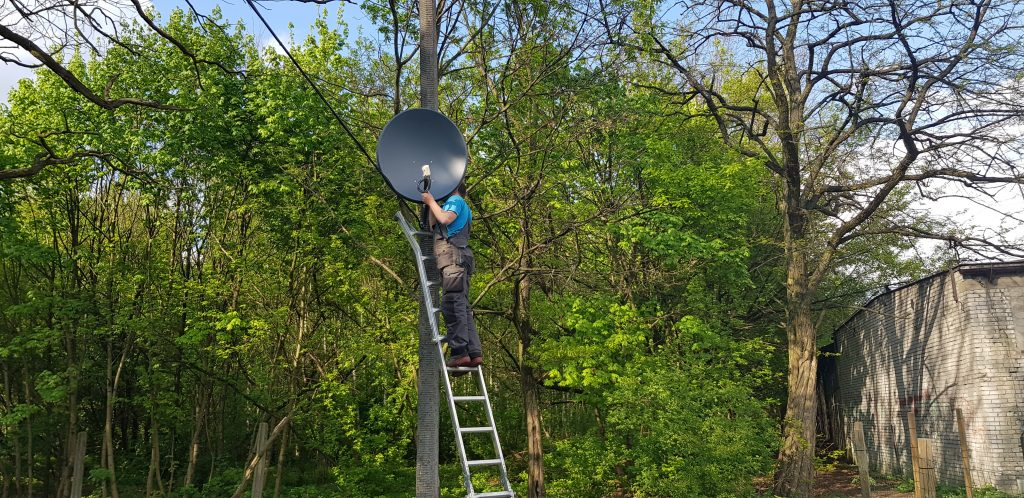 montaż anten Warszawa Rembertów