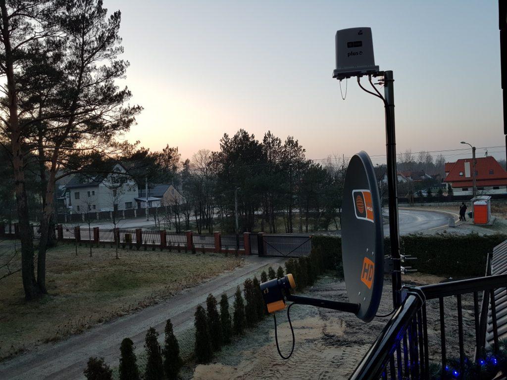 montaż anten Warszawa Mokotów