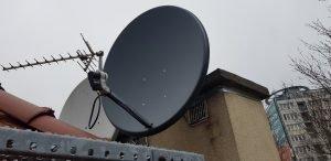 Montaż anten Zielonka